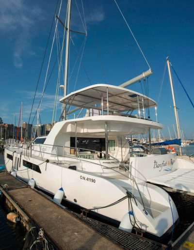 Royal Charters, BVI, Majestic 570 Catamaran, Barefeet Retreat,