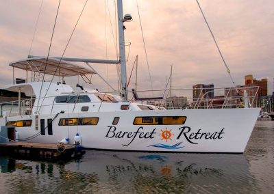 Royal charters, Majestic 570 Fly, Barefeet Retreat, Durban