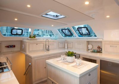 Royal charters, Majestic 570 Fly, Barefeet Retreat, Galley